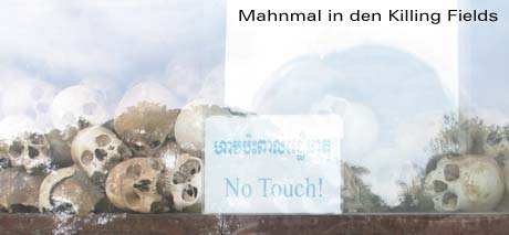 Mahnmal in den Killing Fields