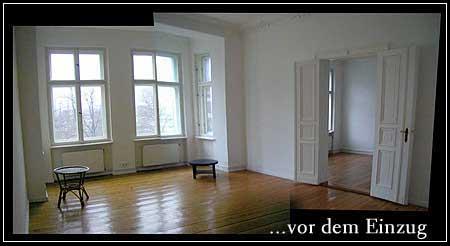 zwei leere Zimmer