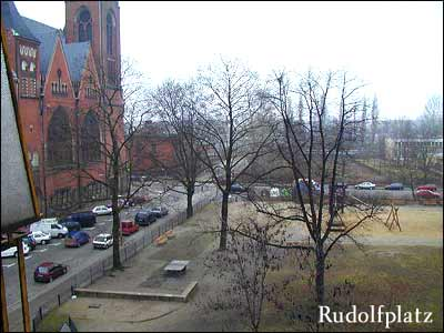 Blick auf den Rudolfplatz