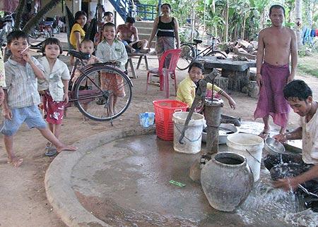 Brunnen in Tani