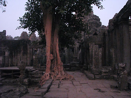 Bayon-Tempel im Morgengrauen