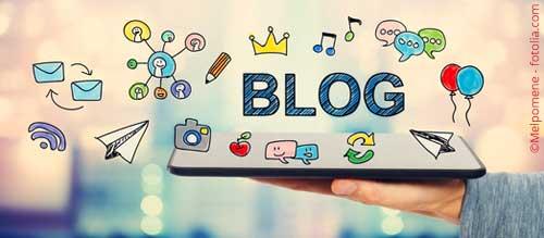 """Illustration """"Bloggen"""""""