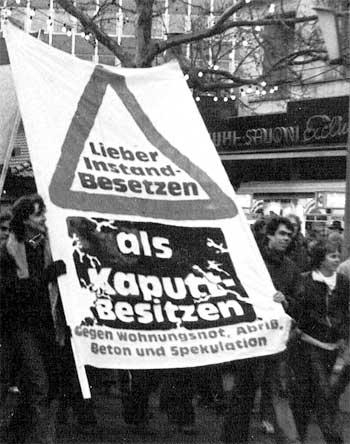 Besetzer-Slogan