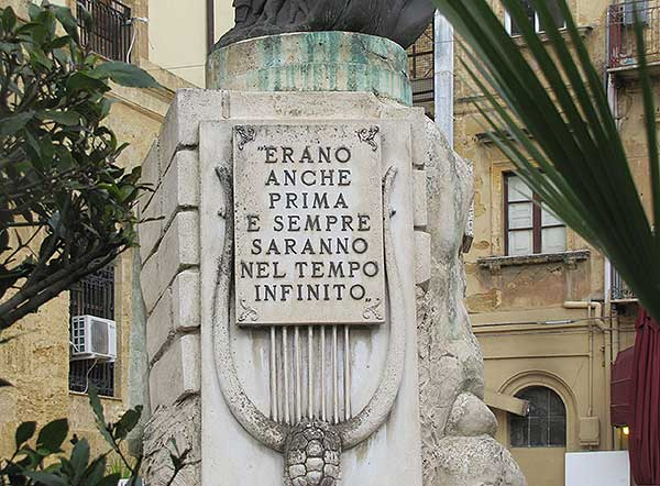 Empedokles-Statue Agrigent