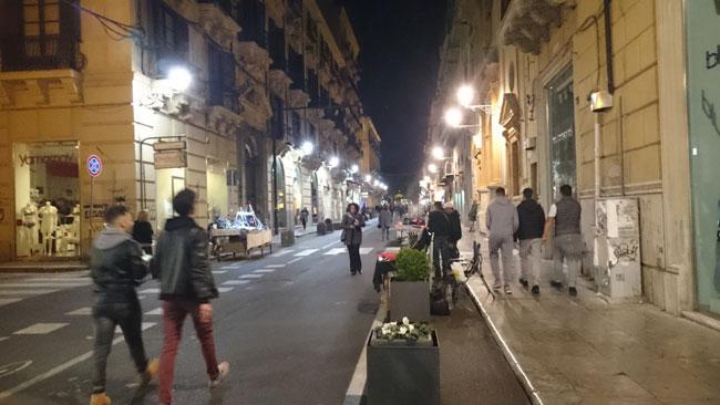 Füßgängerzone Palermo
