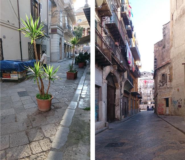 klene Straßen Palermo
