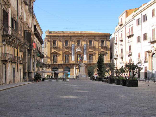 Palermo  Stadtplatz