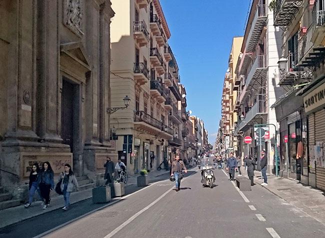 Fußgängerzone Palermo