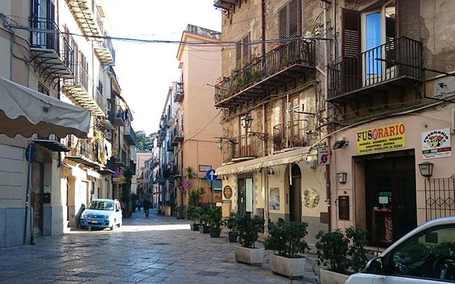 Straße Palermo