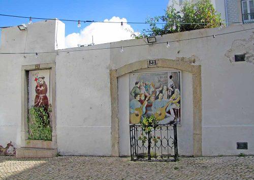 Kunst im öffentlichen Raum Lissabon