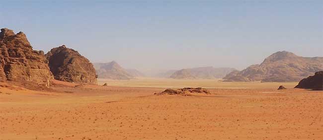 Wadi Rum - Kordanien
